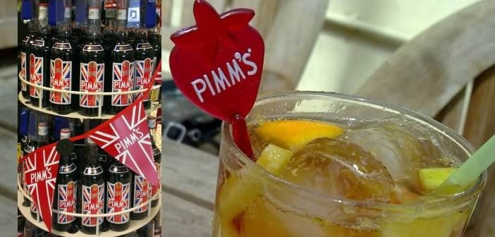 Pimm´s la bebida del verano de UK