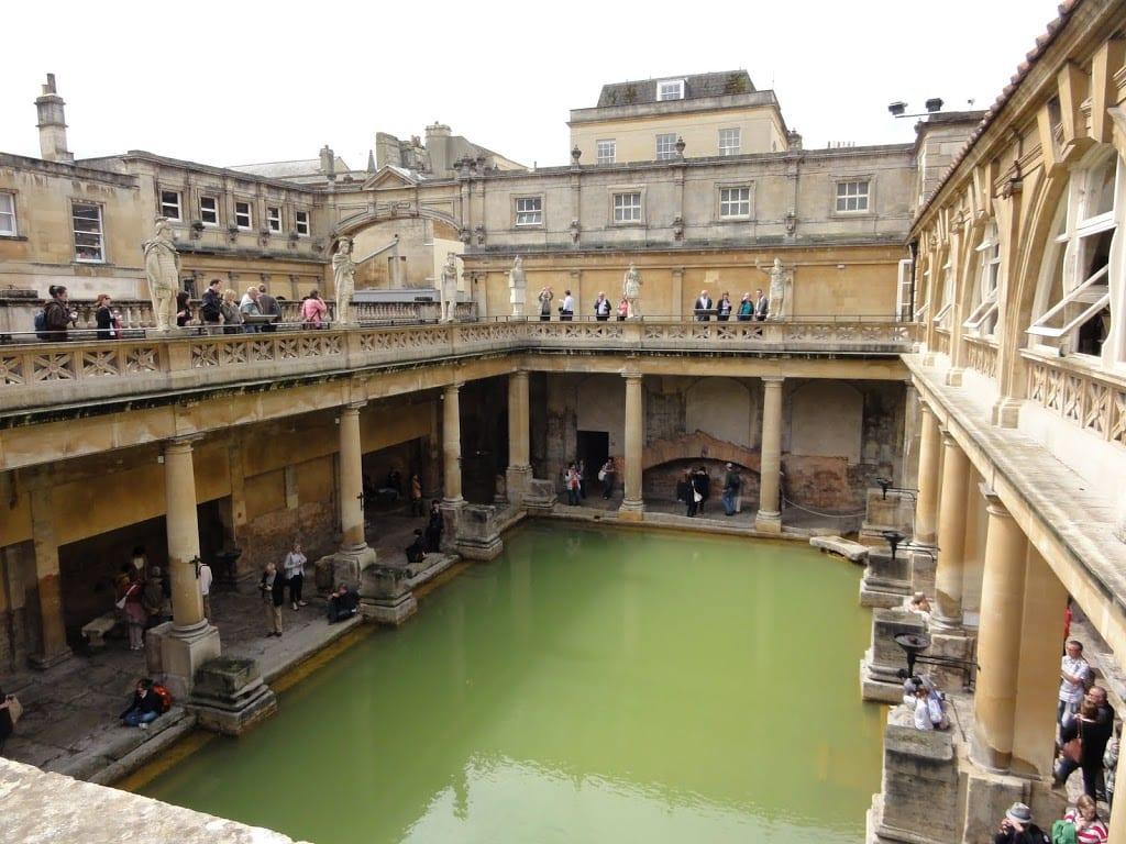 Baños Romanos En Inglaterra:Visitar Bath desde Londres