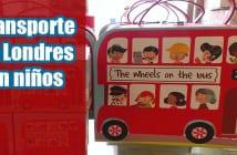 viajar con niños en transporte de Londres