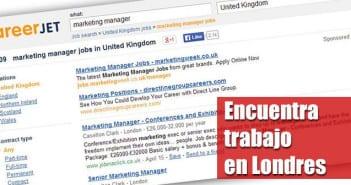 buscar trabajo en Londres