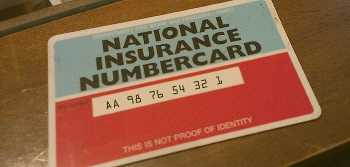 national insurance number londres