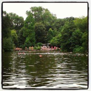 Piscinas públicas en Londres y lagos para bañarse