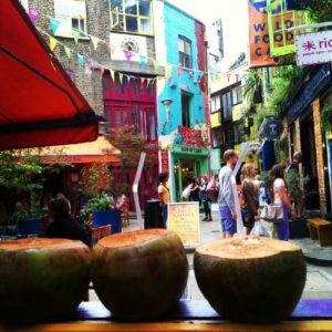 Neal's yard en covent garden en Londres