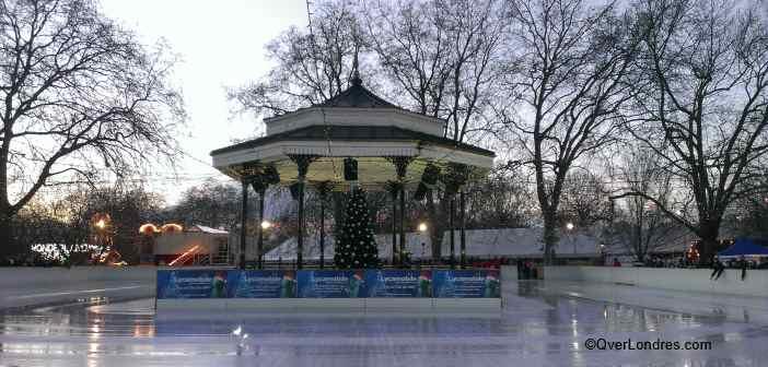Patinaje sobre hielo Londres