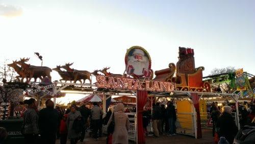 Santa Land en winter wonderland