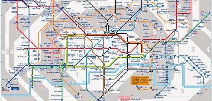 mapa de londres dividido por zonas Zonas de transporte de Londres | Guía de Londres mapa de londres dividido por zonas
