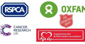 las charity shops de inglaterra