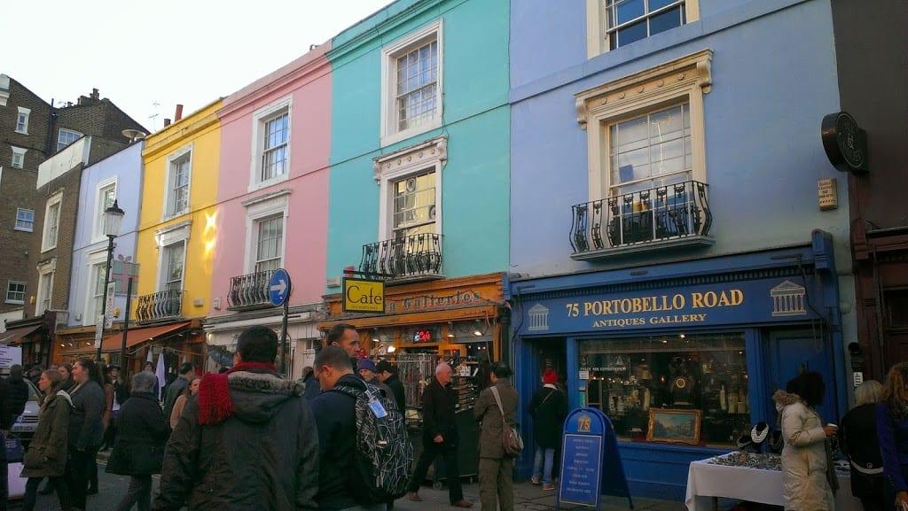 Notting hill ruta recomendada mercadillo y lugares de la for Notting hill ver online