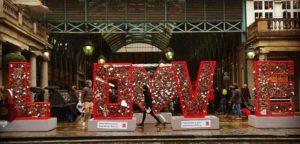 San valentín en Londres