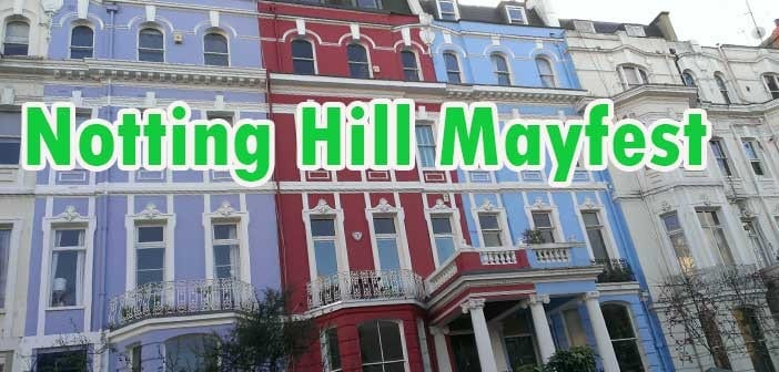 notting hill mayfest londres
