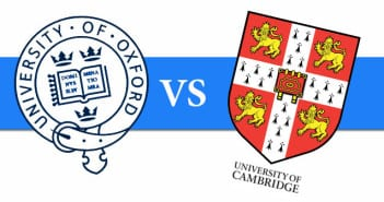 Oxford contra Cambridge