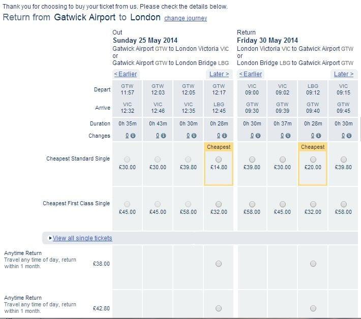 comprar billetes de tren online en uk