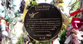 cementerio de cross bones en Londres