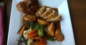 Sunday Roast comida tradicional británica