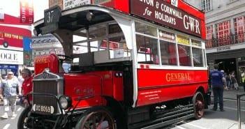 autobus vintage londres