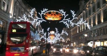 luces navidad londres