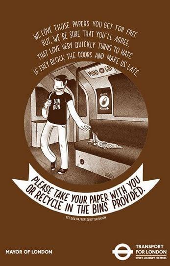 poema metro londres