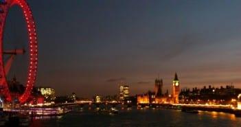 Ver Londres de noche