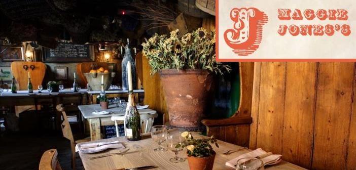 Maggie jones s y la poule au pot dos restaurantes ideales - Cena romantica en londres ...