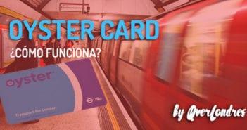 OYSTER CARD DE LONDRES