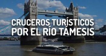 CRUCERO RIO TAMESIS LONDRES