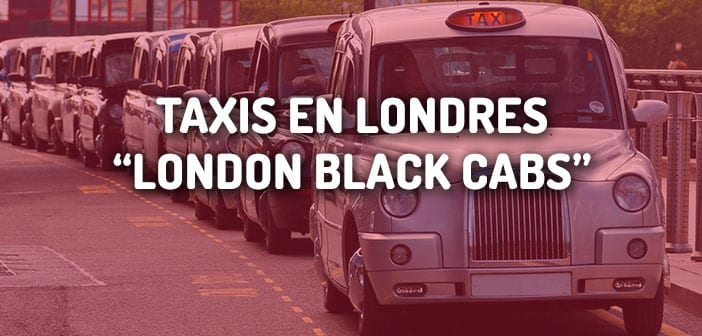 taxis en londres black cabs