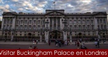 Visitar el Palacio de Buckingham en Londres