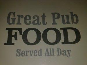 comer en un pub en Londres
