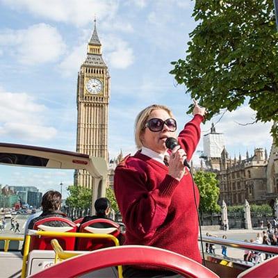Autobus turistico de Londres