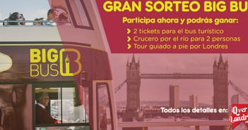 Sorteo Big Bus London QverLondres