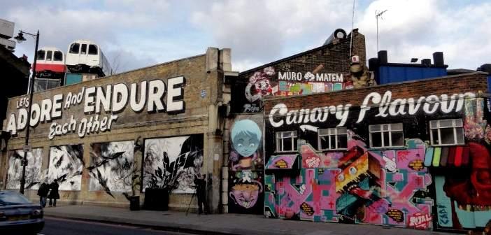 arte urbano y grafitis en londres de ruta por el east end. Black Bedroom Furniture Sets. Home Design Ideas