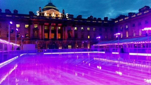 Patinaje sobre hielo Navidad en Londres