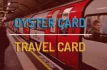 Oyster card o travelcard de Londres