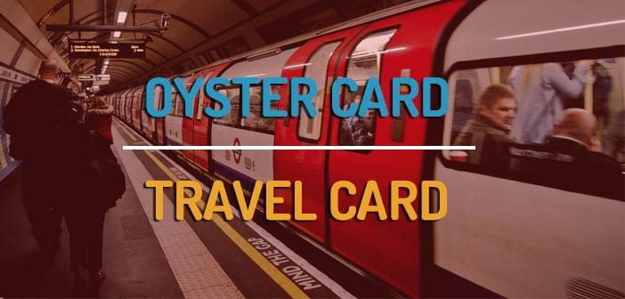 Oyster card o travelcard de Londres