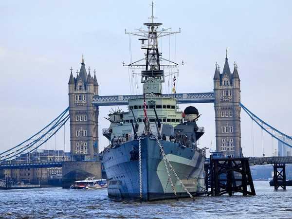 mejores museos de Londres - HMS Belfast