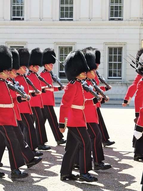 Cambio de Guardia en Buckingham Palace