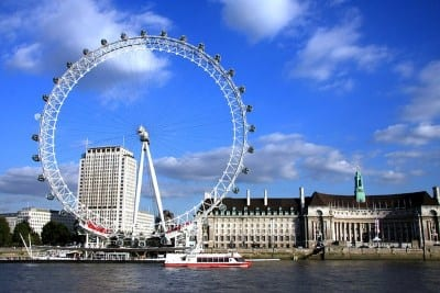 London Eye Londres - La noria de Londres