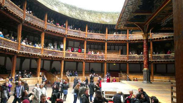shakespeare´s globe en londres
