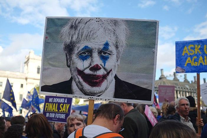 Manifestación en contra del Brexit