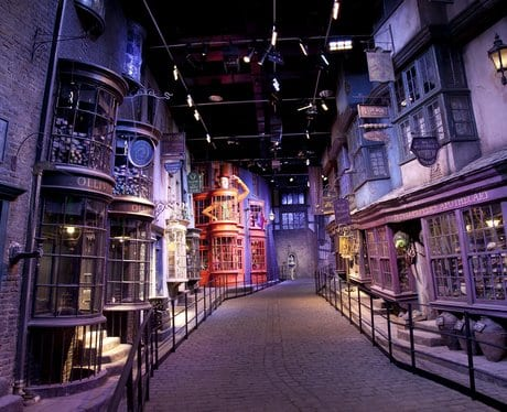 estudios de harry potter
