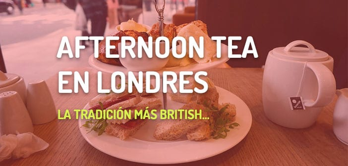 afternoon tea en londres
