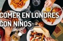 comer en Londres con niños