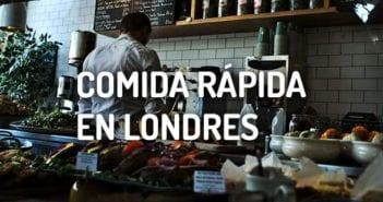 comida rápida en Londres