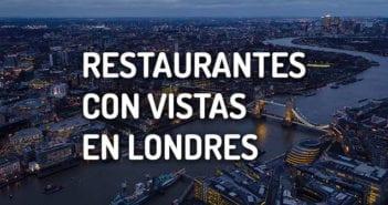 restaurantes con vistas en Londres