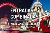 ENTRADAS COMBINADAS ATRACCIONES LONDRES