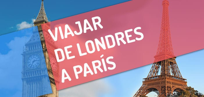 Viajar de Londres a París