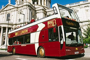 Autobus Big Bus Tours Londres