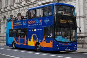 Autobus Turistico Golden Tours Londres