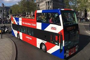 Autobus turistico Original Tours Londres