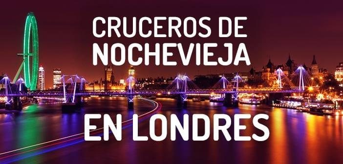 Cruceros de Nochevieja en Londres con vistas a los fuegos artificiales